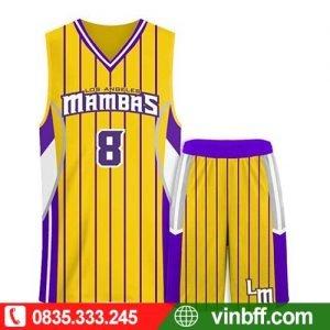 VIN  ☎ 0835333245 CAM KẾT CHẤT LƯỢNG VƯỢT TRỘI khi đặt Bộ quần áo bóng rổ lydaun tại VIN  với chi phí PHÙ HỢP
