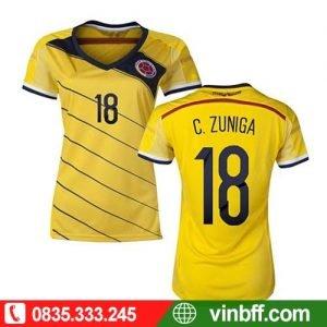 VIN SPORT ☎ 0913758765 CAM KẾT CHẤT LƯỢNG VƯỢT TRỘI khi đặt Bộ quần áo bóng đá nữ Frezak tại VIN SPORT với chi phí PHÙ HỢP