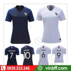 VIN SPORT ☎ 0913758765 CAM KẾT CHẤT LƯỢNG VƯỢT TRỘI khi đặt Bộ quần áo bóng đá nữ Jesatt tại VIN SPORT với chi phí PHÙ HỢP